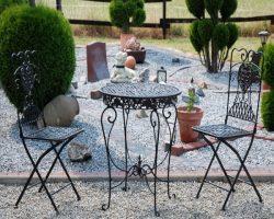 mobilier pentru gradina din fier forjat
