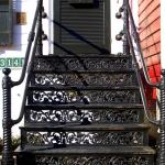 scari exterioare din fier forjat
