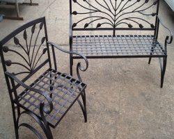 scaune-fier-forjat