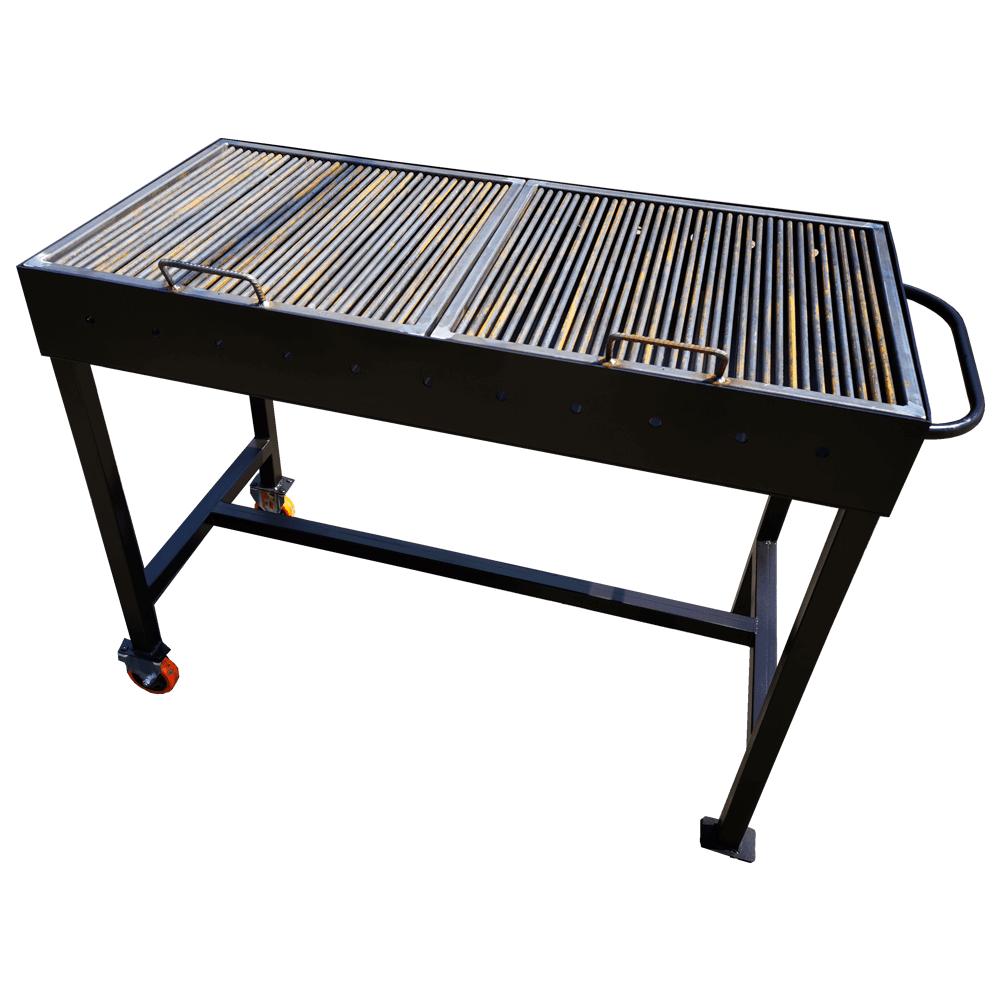 Gratar de gradina gratar metalic din fier 1200X600X140